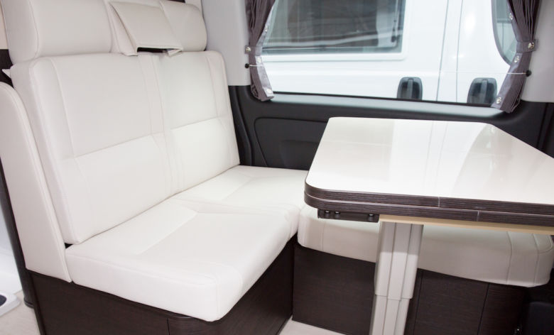 Caravan and motorhome cushion padding