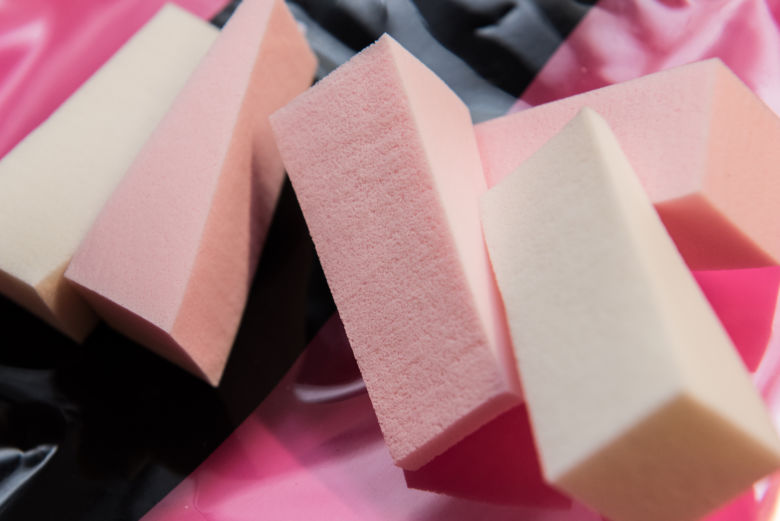 triangular foam sponge