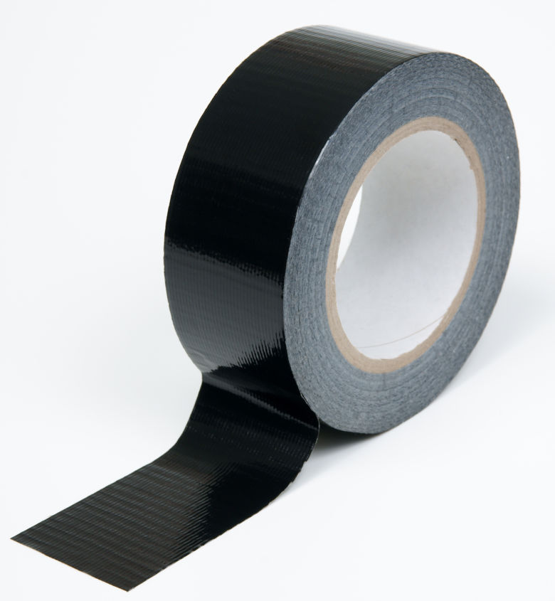 Polythene Coated Cloth Tape Roll
