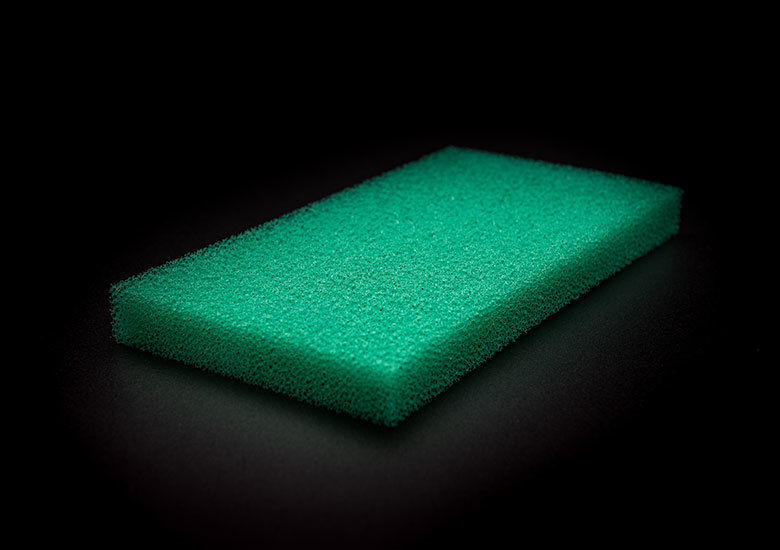 Reticulated Open Cell Foam for Aquariums