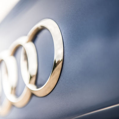 Automotive Audi Badge Copy