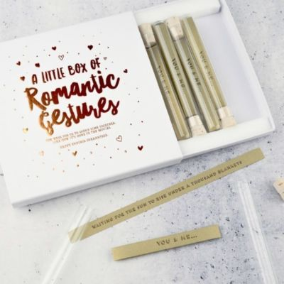 Romantic Gestures Packaging