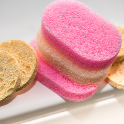 Open Cell Toiletry Sponges