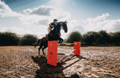 Revolutionising Closed Cell Foam Jump Wings in Equestrian Jump Training