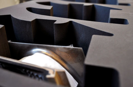 Chemically Cross-Linked Closed Cell Polyethylene Foam Inserts for Rolls-Royce
