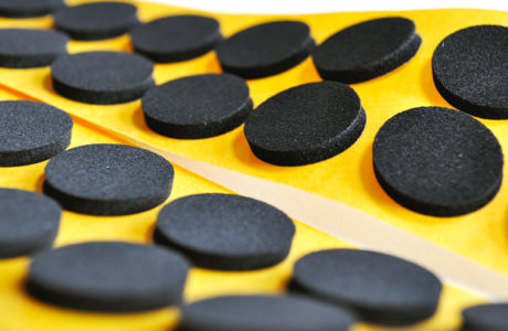 Self-Adhesive Anti Slip EPDM Foam Pads To Increase Grip and Prevent Surface Slippage